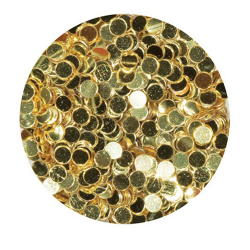1/4 oz. Gold Polka Dot