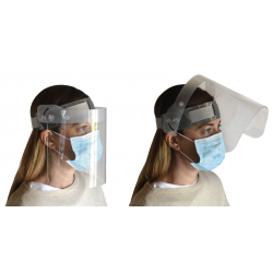 MEDIUM face protection visor